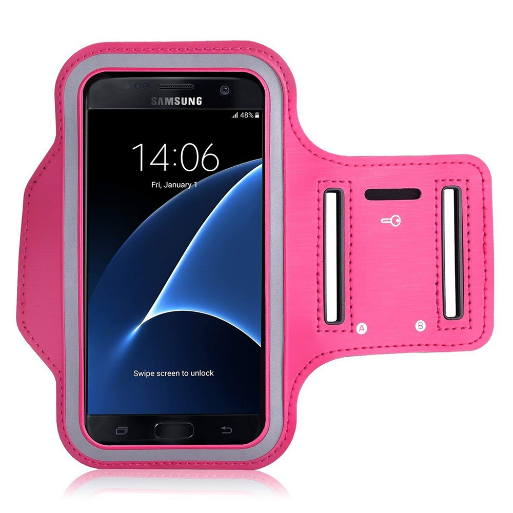 Water Resistant Galaxy S7 Armband 5.2 Inch, Water Resistant Sports Running Armband Workout Cover for Nexus 5X/Sony Z5/iPhone SE/iPhone 6s/Droid Turbo 2