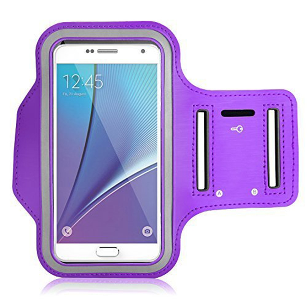 Water Resistant Galaxy S7 Armband 5.2 Inch, Water Resistant Sports Running Armband Workout Cover for Nexus 5X/Sony Z5/iPhone SE/iPhone 6s/Droid Turbo 4