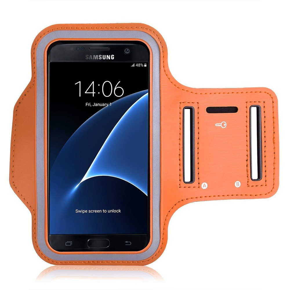 Water Resistant Galaxy S7 Armband 5.2 Inch, Water Resistant Sports Running Armband Workout Cover for Nexus 5X/Sony Z5/iPhone SE/iPhone 6s/Droid Turbo 1