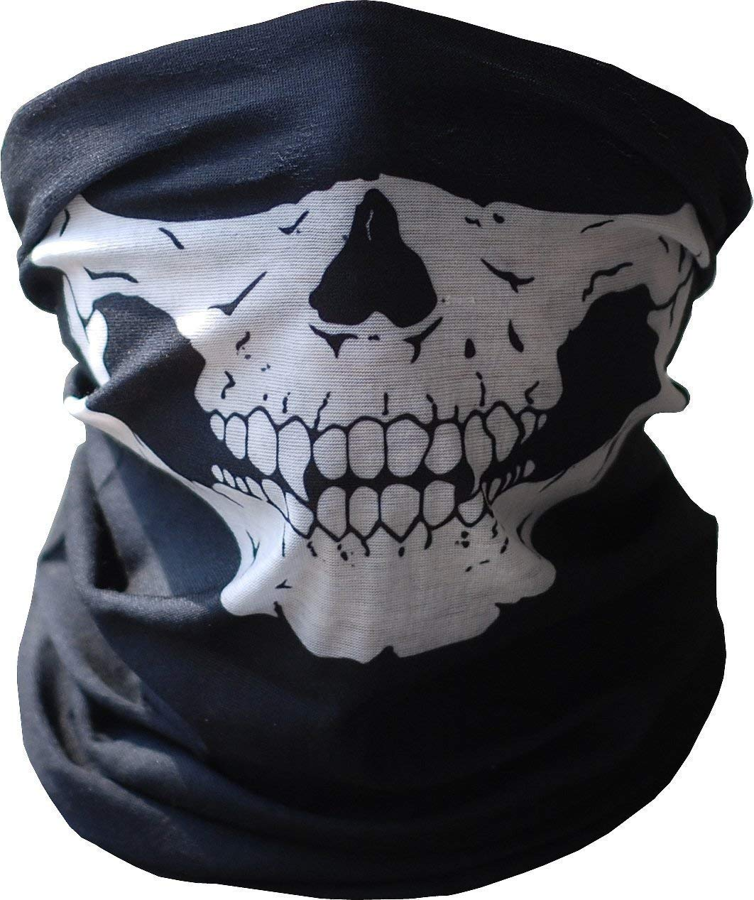 Multifunctional Outdoor Face Mask, Seamless Headwear Protective Bandana Skeleton Face Shield For Fishing/Hunting/Camping/Hiking/Sports 3