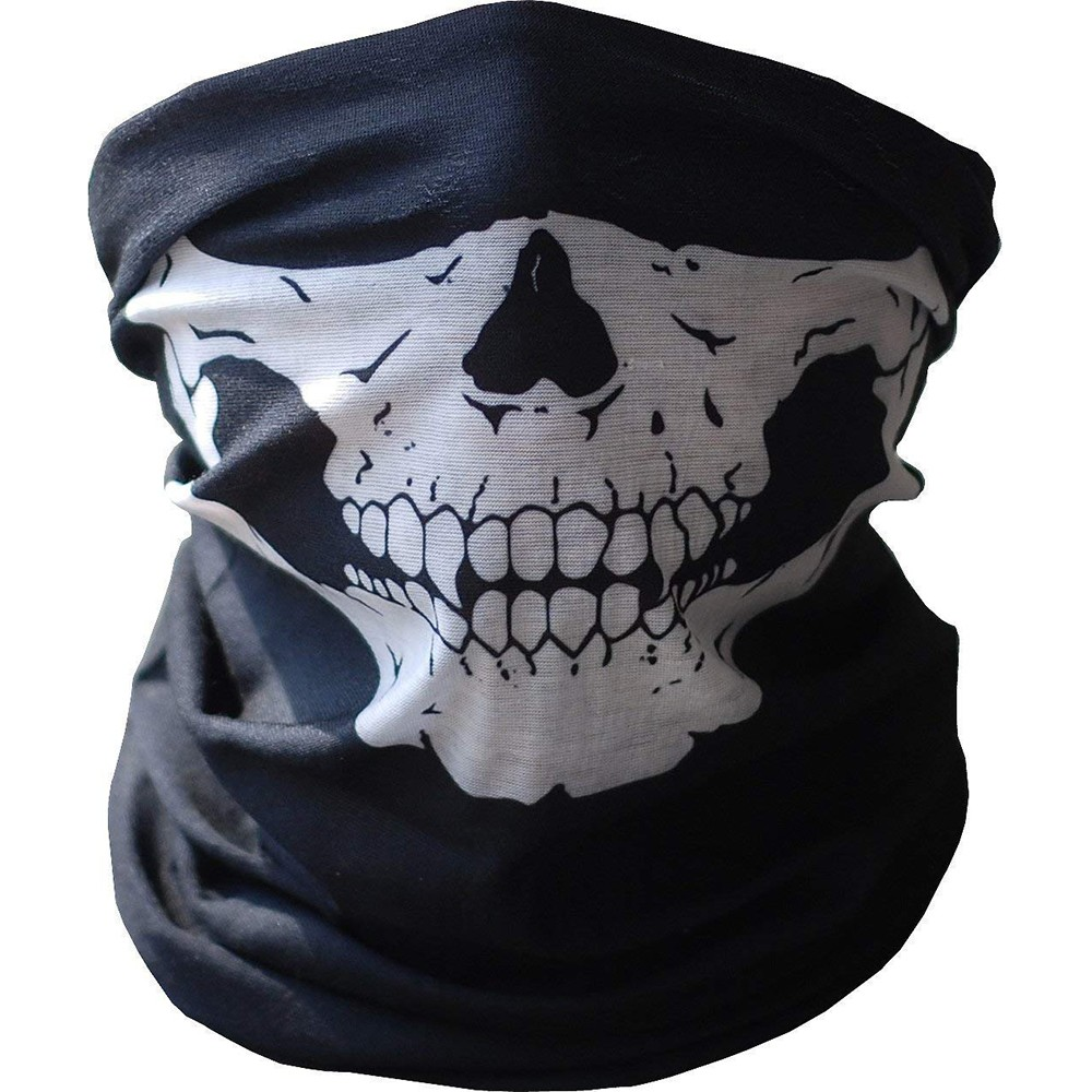 Multifunctional Outdoor Face Mask, Seamless Headwear Protective Bandana Skeleton Face Shield For Fishing/Hunting/Camping/Hiking/Sports 9