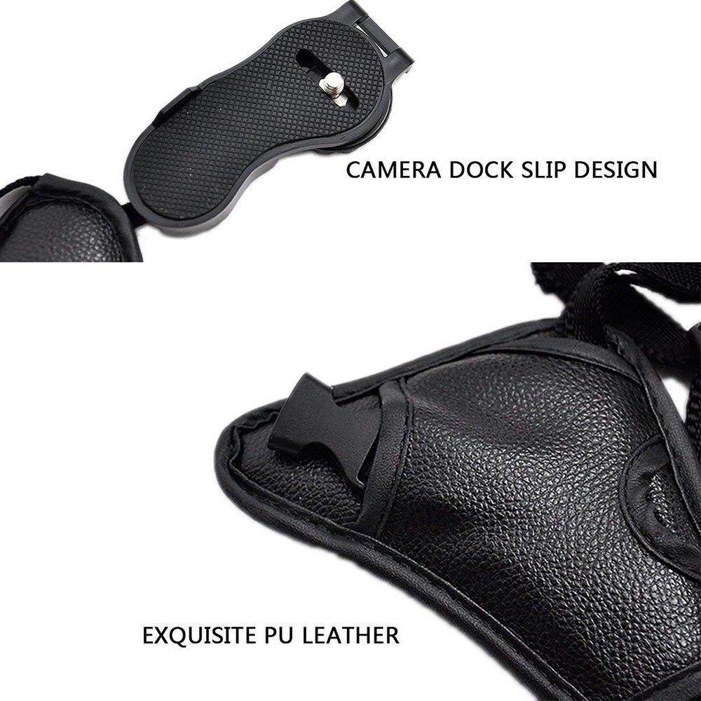 Hand Grip Strap for DSLR Cameras, Camera Padded Wrist Grip Strap for Prevents Droppage and Stabilizes Video 4