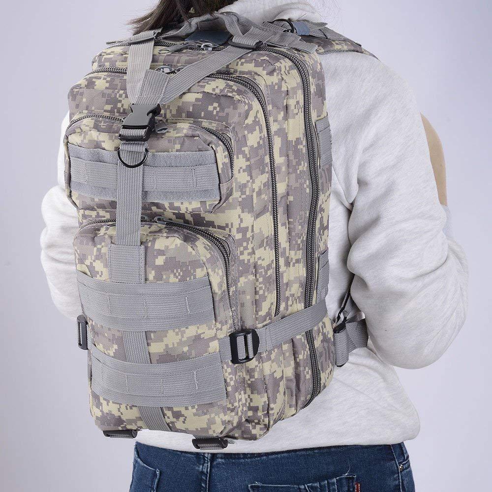 Waterproof Tactical Hiking Backpack, Outdoor 30L Military Rucksacks 16