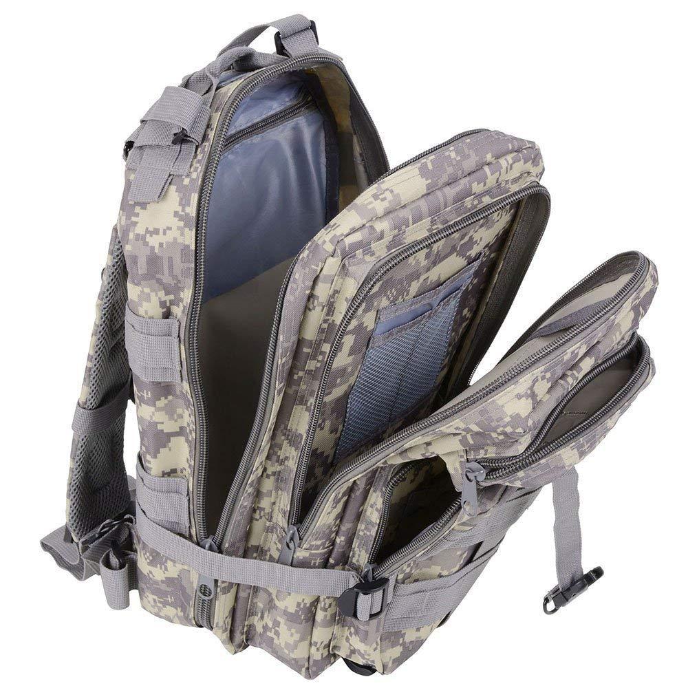Waterproof Tactical Hiking Backpack, Outdoor 30L Military Rucksacks 17
