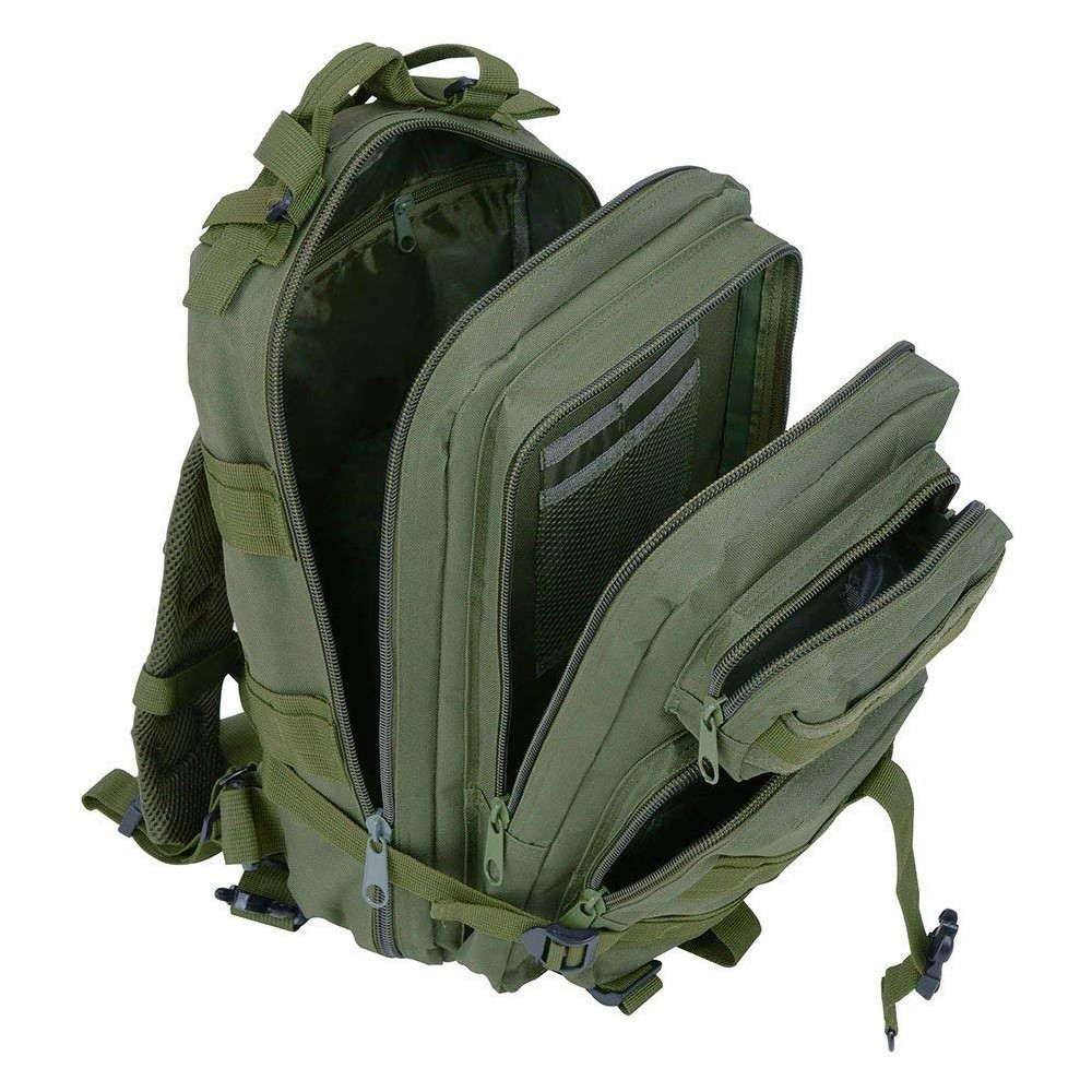 Waterproof Tactical Hiking Backpack, Outdoor 30L Military Rucksacks 14
