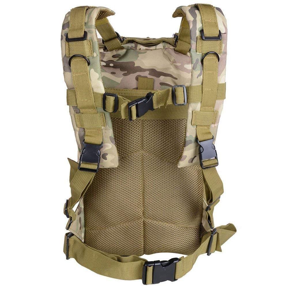 Waterproof Tactical Hiking Backpack, Outdoor 30L Military Rucksacks 11