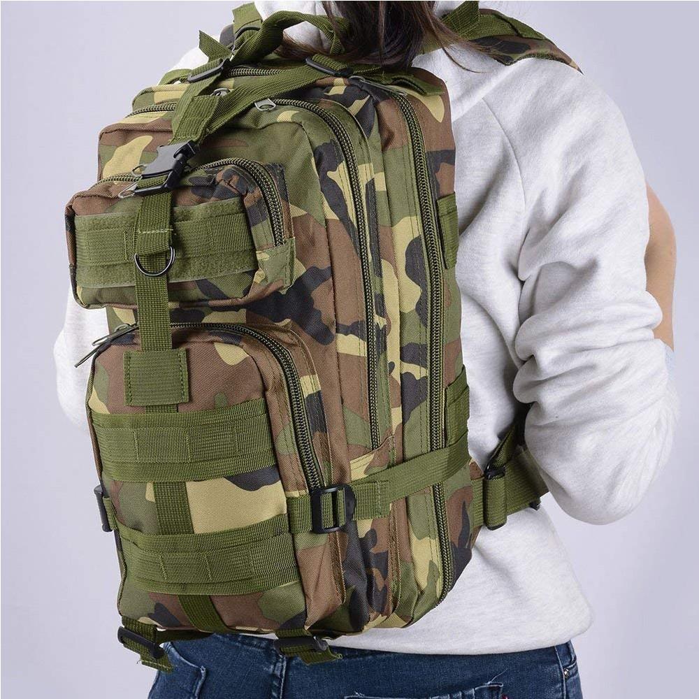 Waterproof Tactical Hiking Backpack, Outdoor 30L Military Rucksacks 0