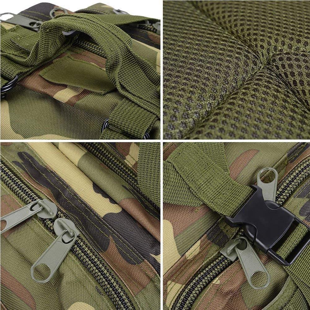 Waterproof Tactical Hiking Backpack, Outdoor 30L Military Rucksacks 4