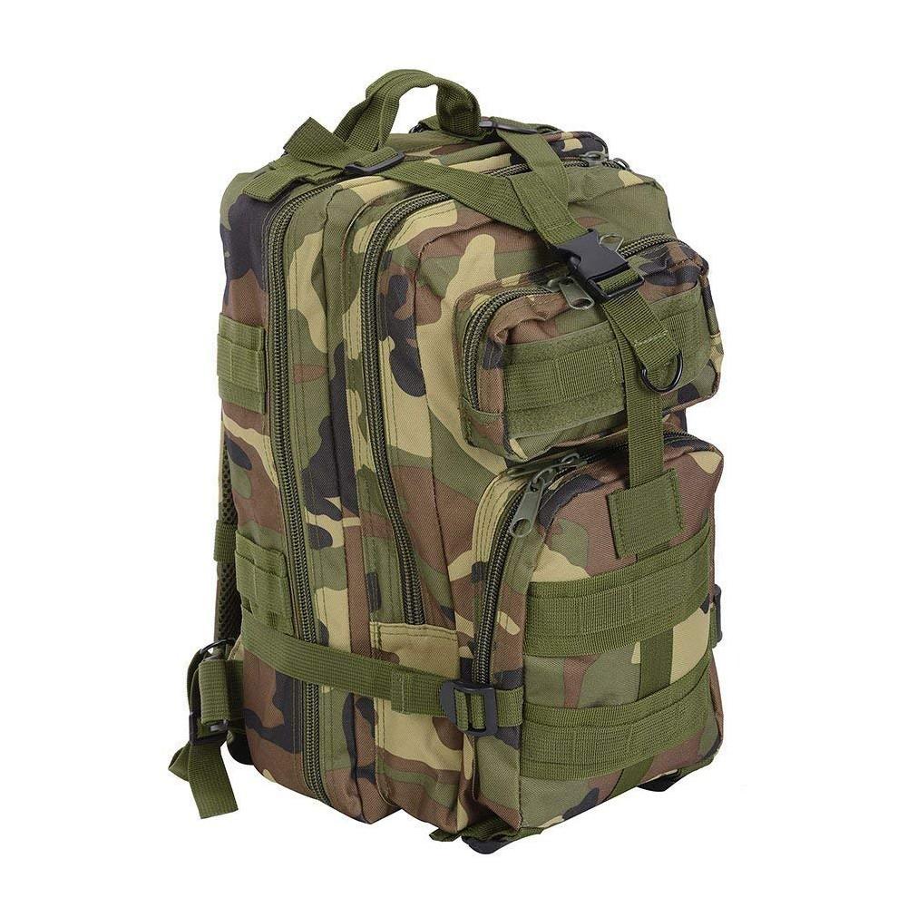 Waterproof Tactical Hiking Backpack, Outdoor 30L Military Rucksacks 2