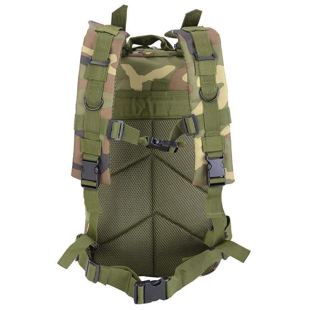 Waterproof Tactical Hiking Backpack, Outdoor 30L Military Rucksacks 6