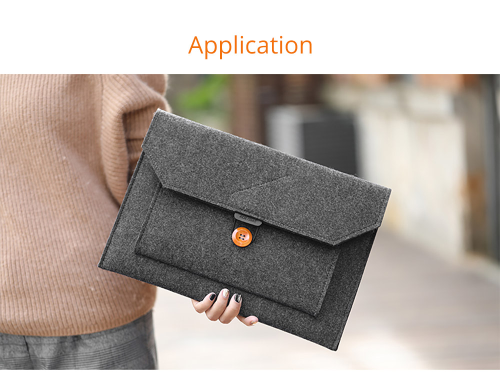 New Arrival Fashionable Briefcase 13-15 inch Laptop Accessories Laptop Case Cover, Durable Clutch Handbag fits for Macbook Pro 13.3'' Apple Air 13'' 12
