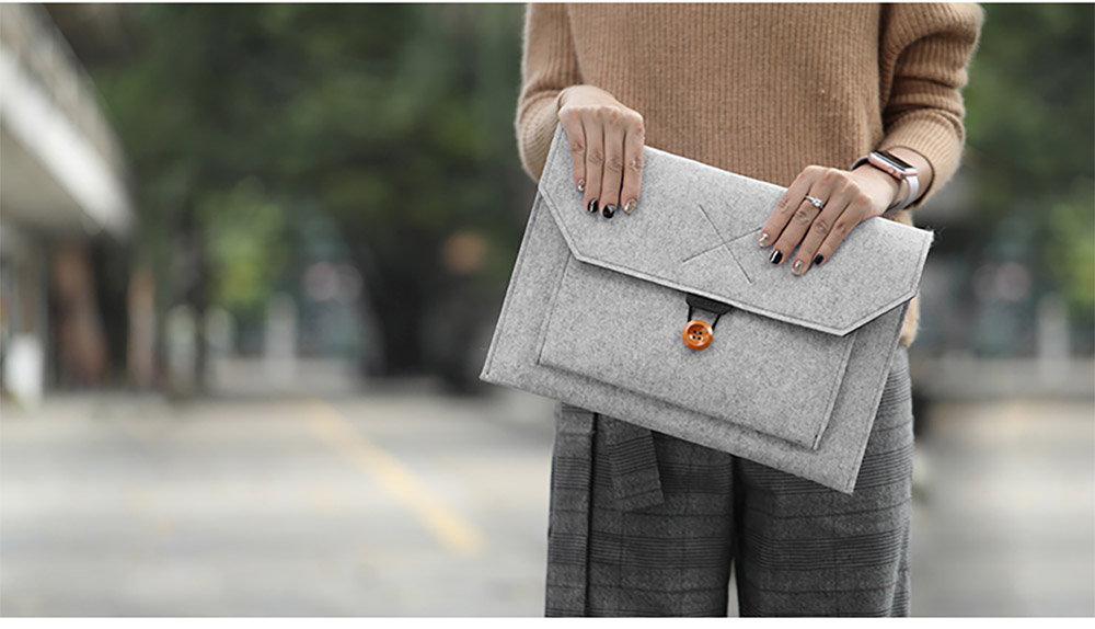 New Arrival Fashionable Briefcase 13-15 inch Laptop Accessories Laptop Case Cover, Durable Clutch Handbag fits for Macbook Pro 13.3'' Apple Air 13'' 14