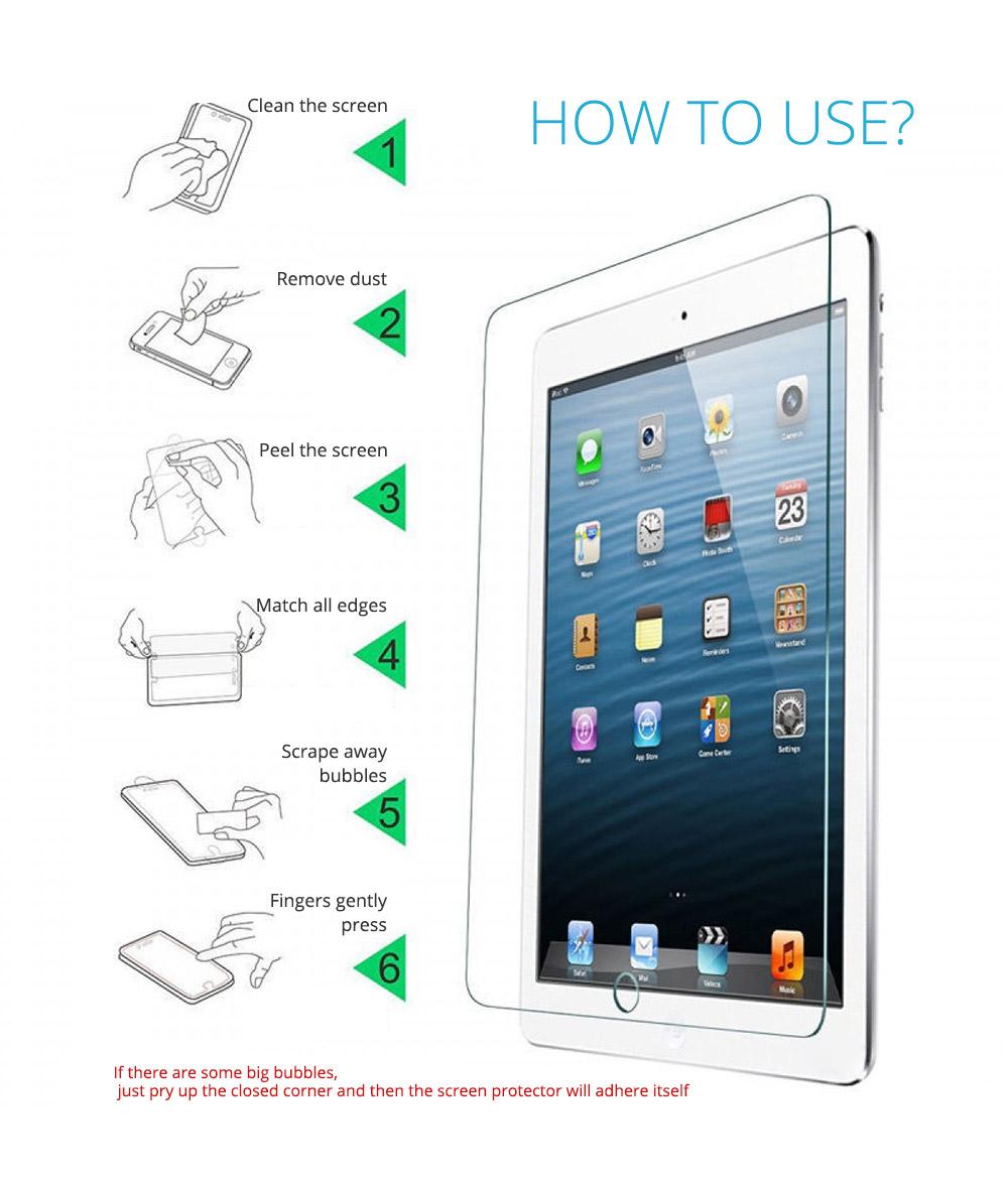 Screen Protector for iPad Mini 1/2/3, iPad Mini 4 Protective Screen 7.9 inch 19