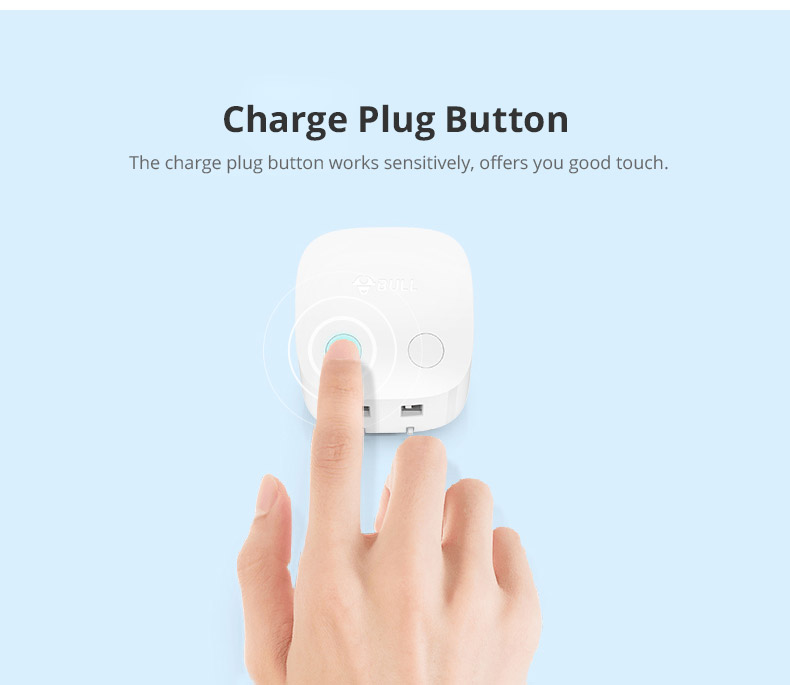 Universal Auto Power Off Quick Charger Plug for iPad Samsung Galaxy Tab, Practical USB Charger Adapter Compatible for iPhone & Android Devices 13