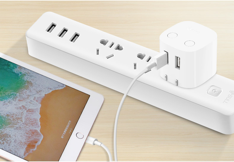 Universal Auto Power Off Quick Charger Plug for iPad Samsung Galaxy Tab, Practical USB Charger Adapter Compatible for iPhone & Android Devices 20