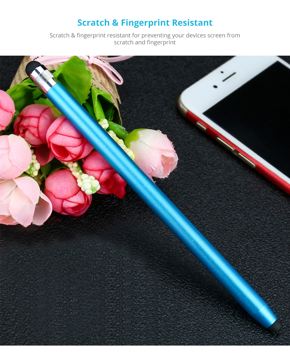 Laptop Cellphone Universal Stylus Compatible for Kindle Touch ipad iphone 6/6s 6Plus 6s Plus Samsung S5 S6 S7 Edge S8 Plus iPad Pro Note Screen Touch Sensitive 9