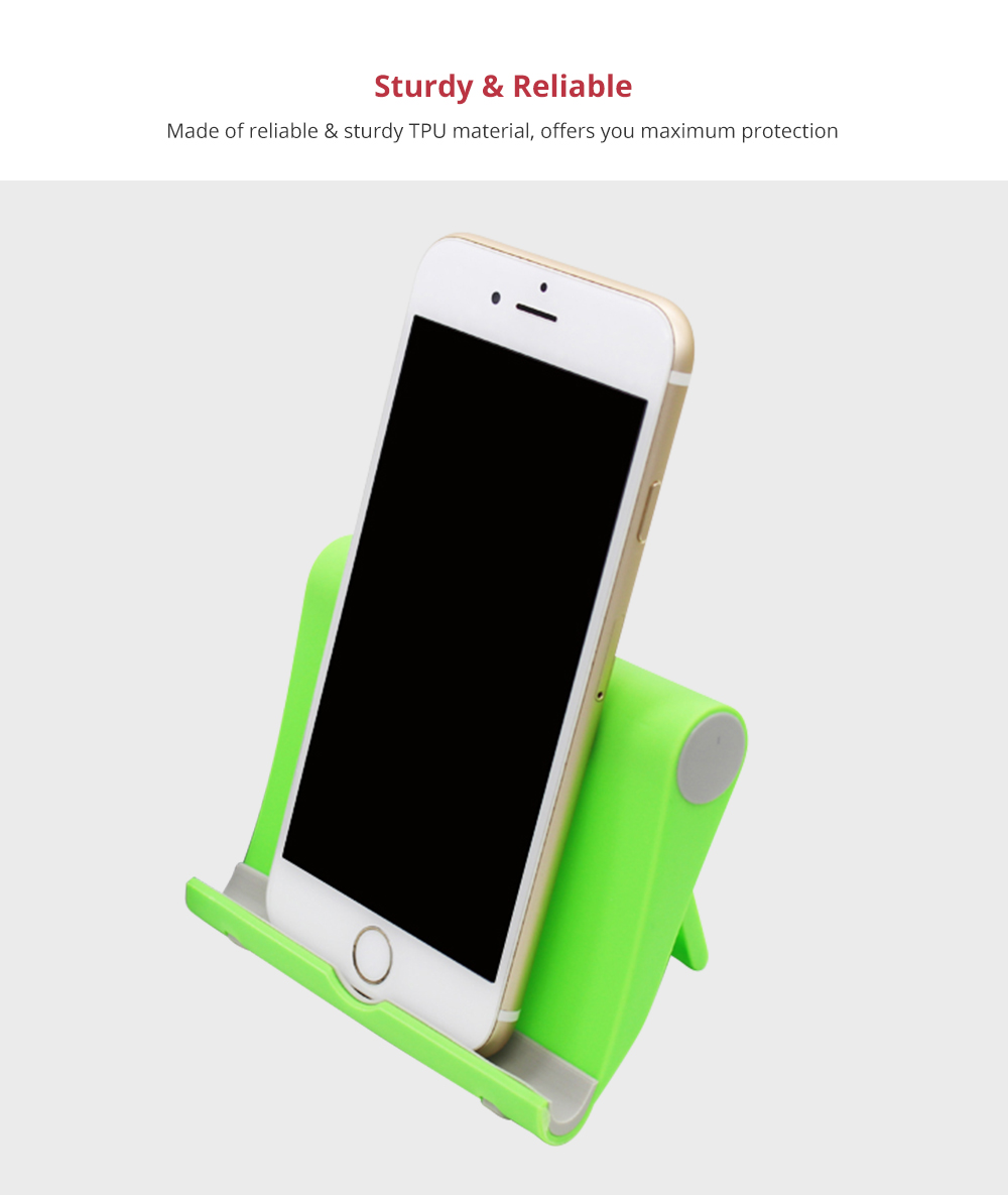 Phone Accessories Universal Adjustable Desktop Stand Compatible with 4--10 inch iPhone X/XS, iPhone 8/8Plus Tablets Kindle Android Multi-angle Phone Tablet Holder 8