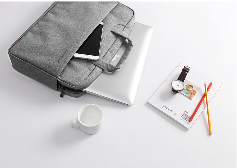 Laptop Accessories Retro 12-17 inch Case Cover, Durable Universal Hand Bag Briefcase for Macbook Air, Macbook Pro or other Laptops Shoulder Bag 15