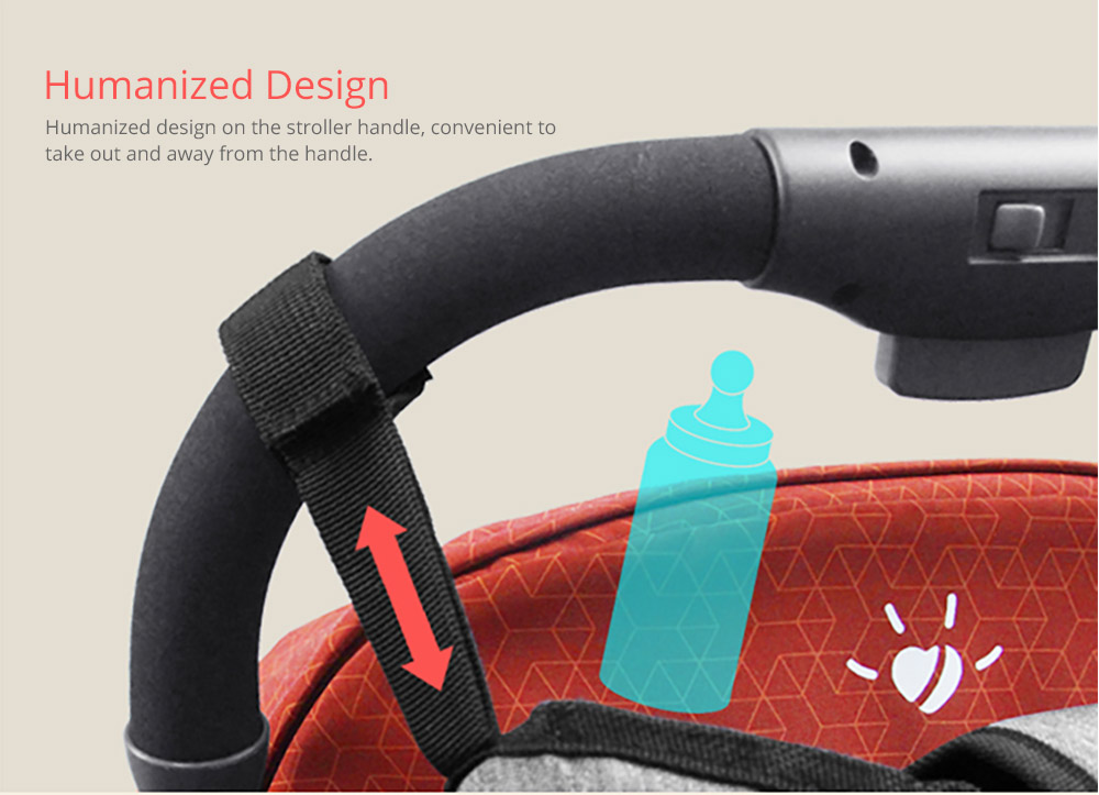 Portable Stroller Organizer Bag with Multiple Pockets Phone Pocket Insulated Cup Holder - Universal Multipurpose Baby Stroller Accessories 14