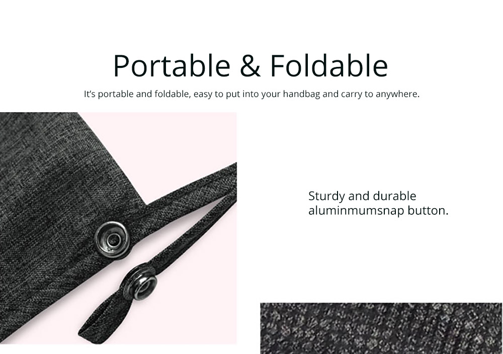 Portable Foldable Linen Stroller Organizer Bag with Multiple Compartments - Universal Multipurpose Stroller Accessories 11