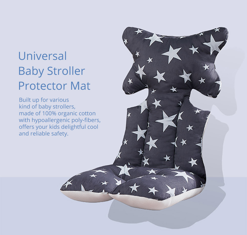 Baby Carriages Cotton Cushion, Stroller Accessories Baby Stroller Cotton Pad Universal Baby Stroller Cotton Protector Mat 5