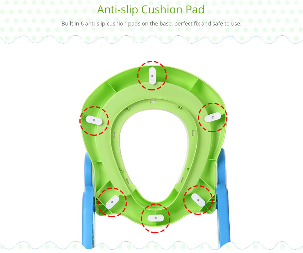 Toilet Training Seat with Non-slip Ladder for Girls Boys Potty Trianer with Step Tool Ladder for Kids 15