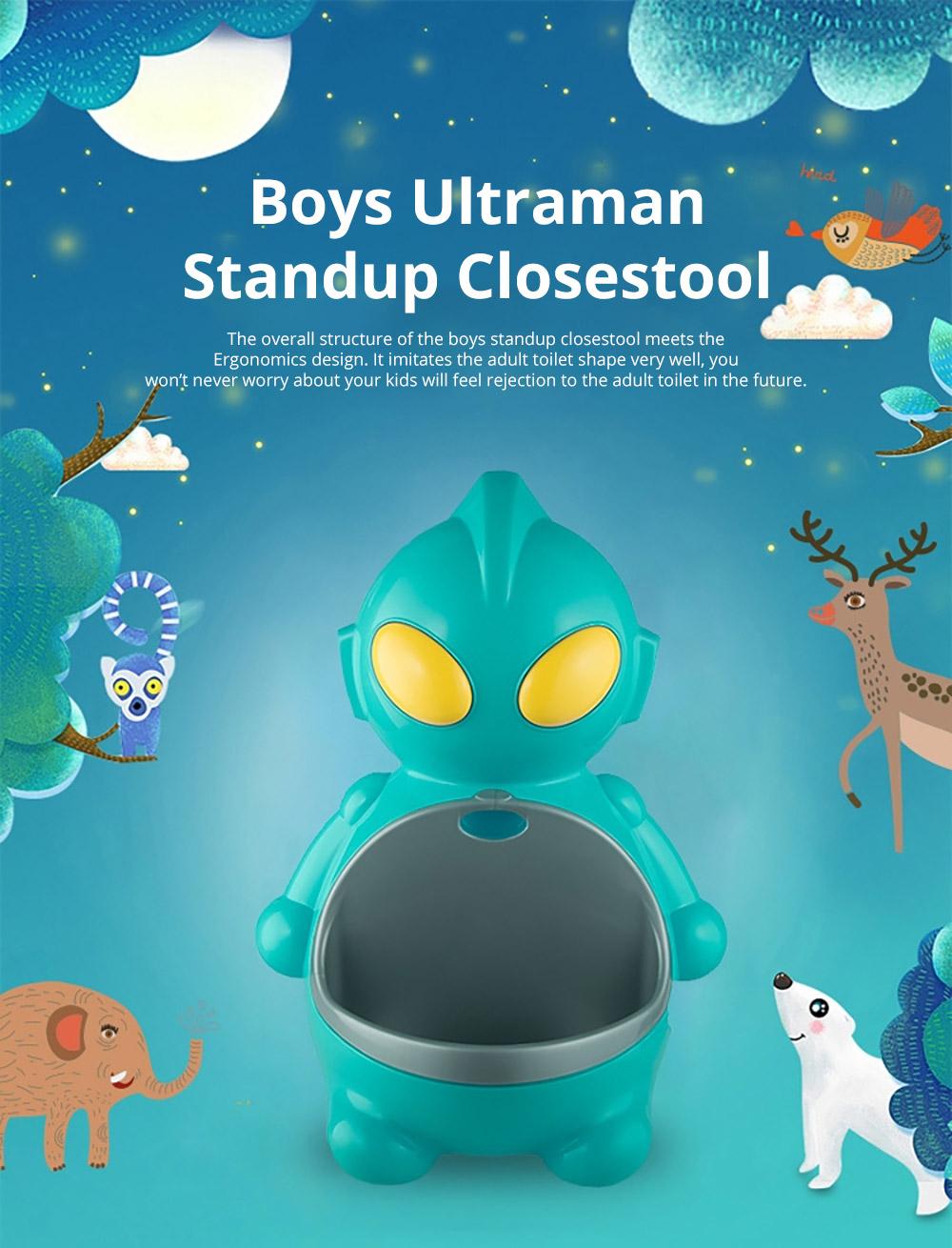 Unique Ultraman Toilet Trainer Boys Toilet Triaining Standup Potty Boys Mini Standup Closestool Potty Training 5