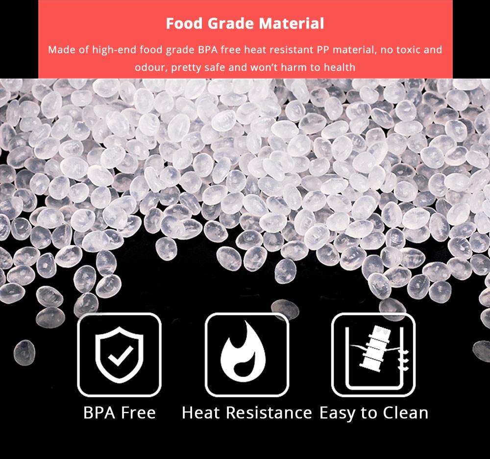 Universal Portable Milk Powder Dispenser Food Grade BPA Free Milk Powder Storage Box 3 Layer Individual Milk Powder Organizer Case 8