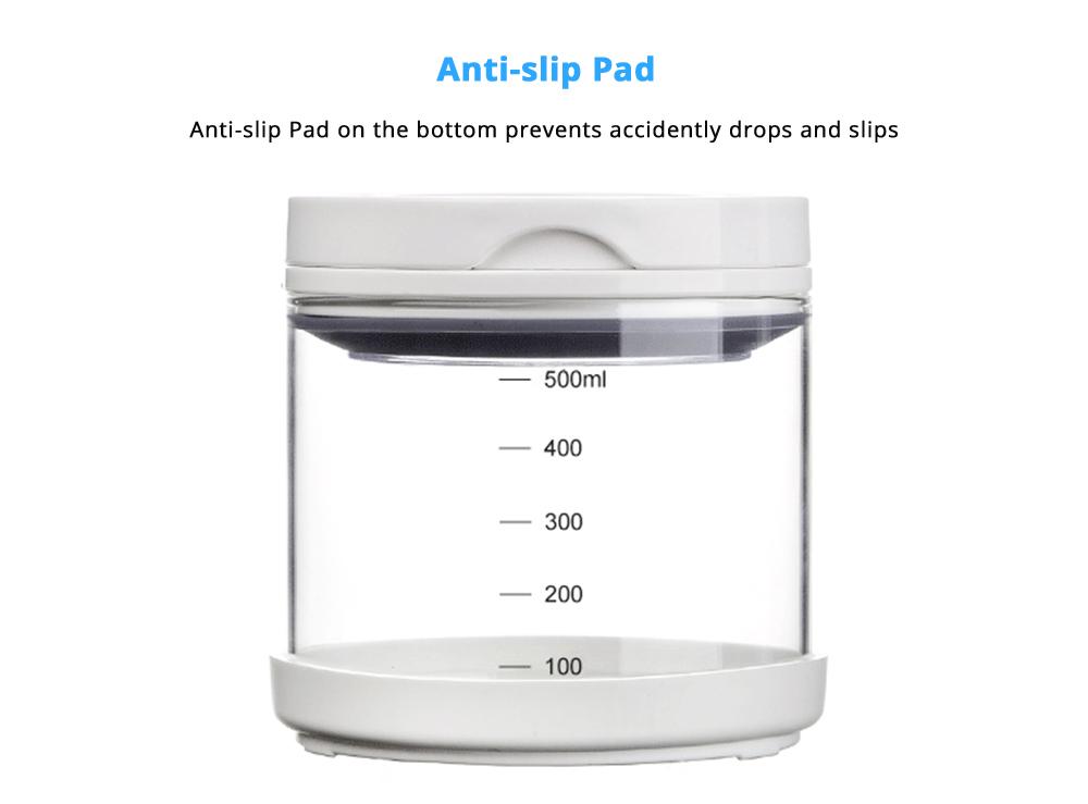 Multipurpose Milk Powder Dispenser for Outdoors, Food Grade BPA Free 3 Layer Individual Milk Powder Storage Box Food Organizer Case Snack Cups 11