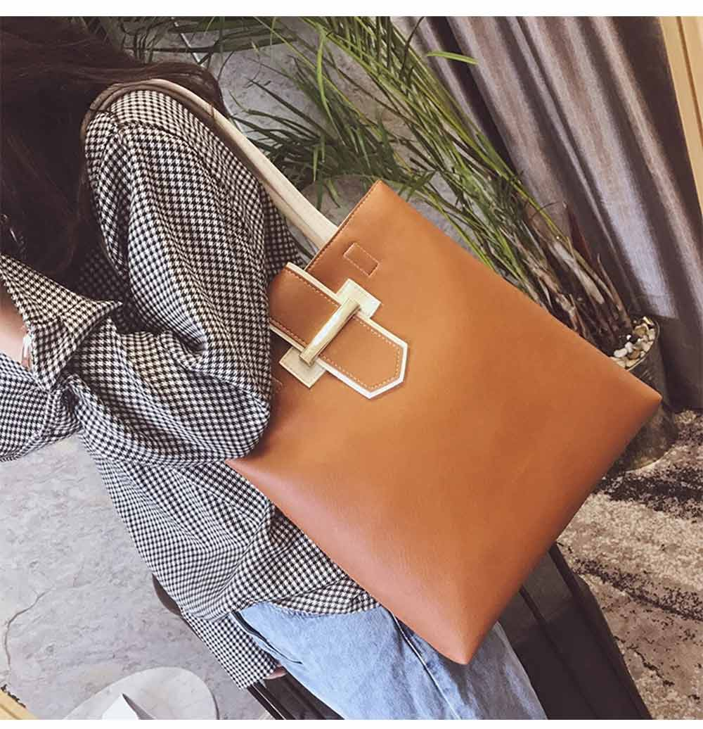 Women's Shoulder Bag - Simply Unique Elegant Women's Briefcase, Stylish Durable Crossbody Bag for Shipping, Outdoors, Traveling 10