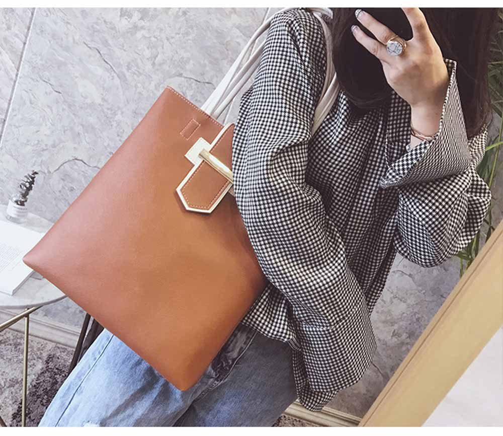 Women's Shoulder Bag - Simply Unique Elegant Women's Briefcase, Stylish Durable Crossbody Bag for Shipping, Outdoors, Traveling 11