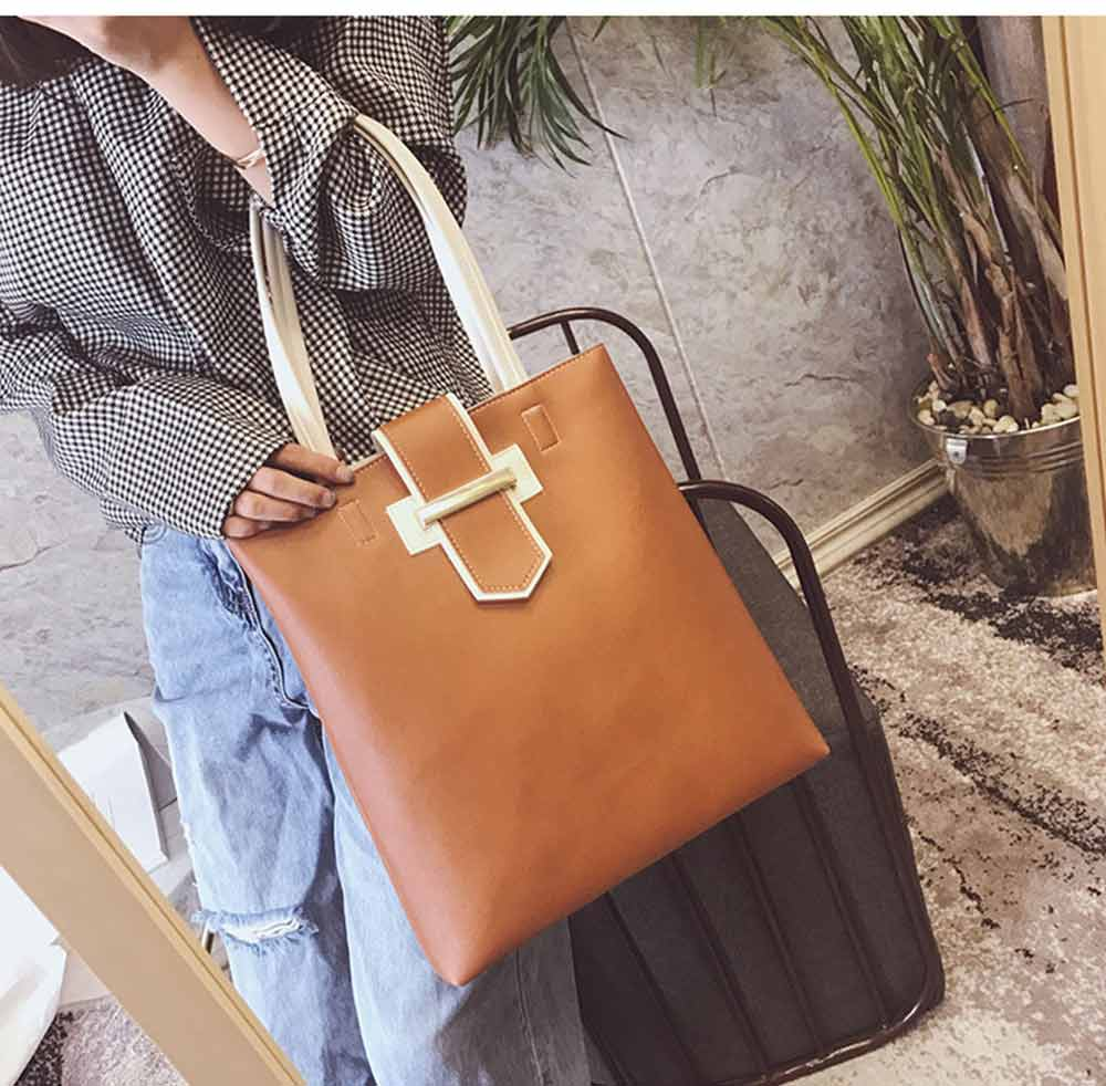 Women's Shoulder Bag - Simply Unique Elegant Women's Briefcase, Stylish Durable Crossbody Bag for Shipping, Outdoors, Traveling 12