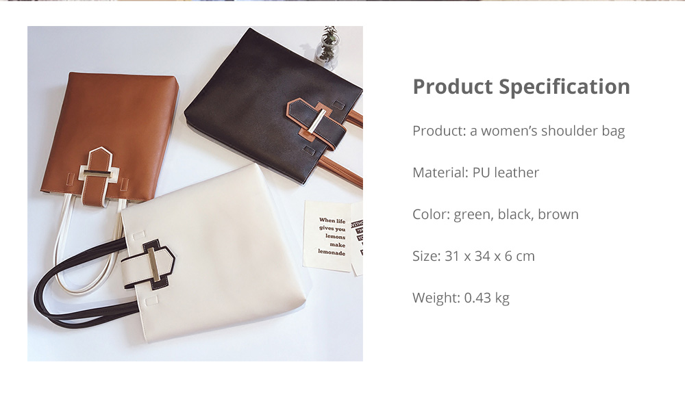 Women's Shoulder Bag - Simply Unique Elegant Women's Briefcase, Stylish Durable Crossbody Bag for Shipping, Outdoors, Traveling 13