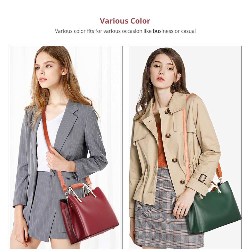 Fashionable Elegant Women's Handbag with Magnetic Button Stylish Durable Women's Briefcase with Shoulder Strap Crossbody Bag 11
