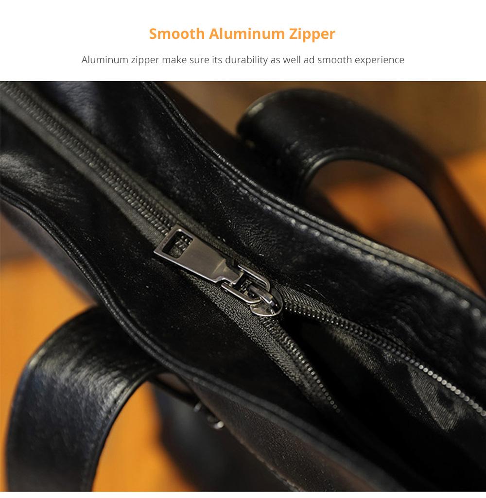 Durable Soft Elegant Women's Shoulder Bag, Large Capacity Sleek Women's Briefcase Handbag for Shipping, Outdoors, Traveling 9