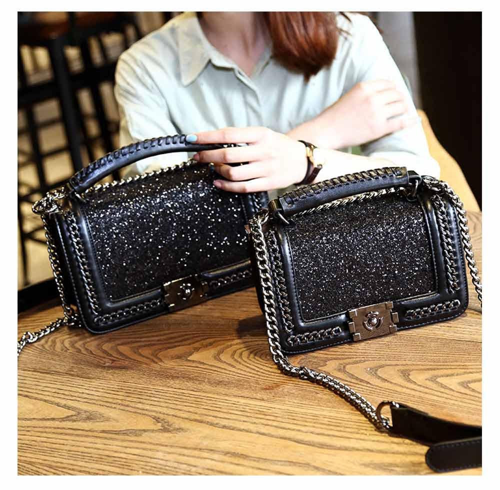 Luxurious Shining Party Shoulder Bag