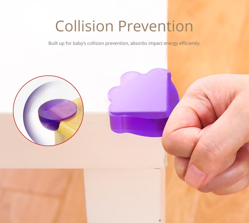 Universal Anti-impact Flexible Silicone Protective Cover for Windows Desks Tables Sharps Corner Soft Collision Prevention Corner Protector 6