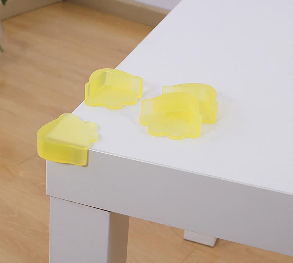 Universal Anti-impact Flexible Silicone Protective Cover for Windows Desks Tables Sharps Corner Soft Collision Prevention Corner Protector 13