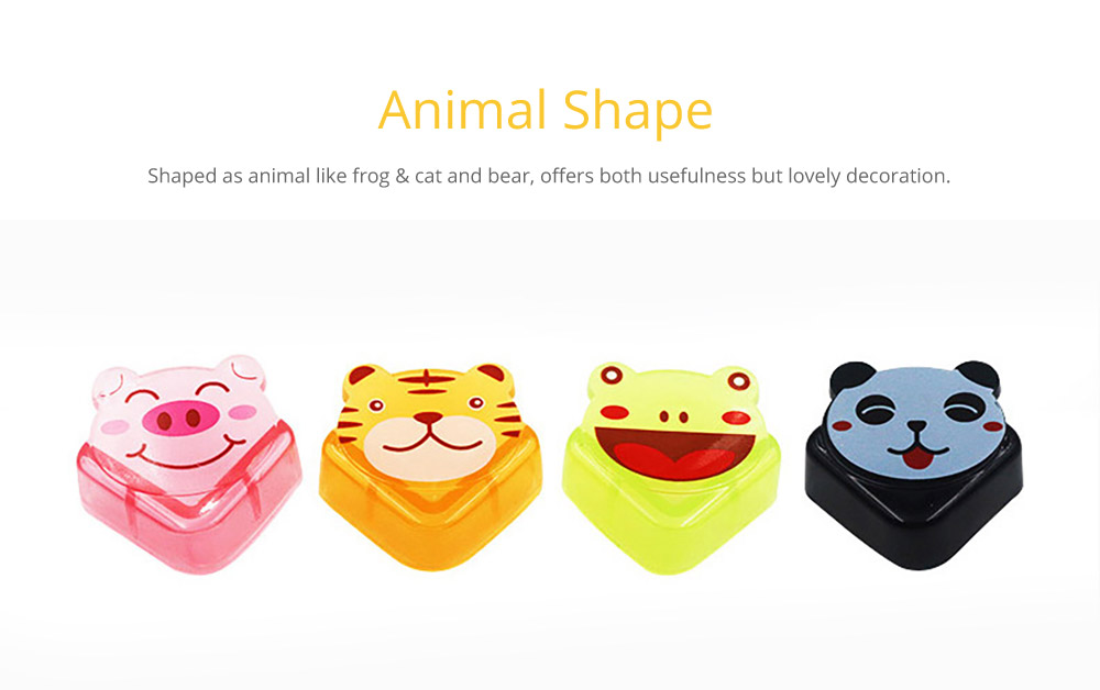 Cute Animal Shape Flexible Collision Prevention Corner Protector with Double-sided Adhesive for Furniture Against Sharp Corners, 8 Pack  11