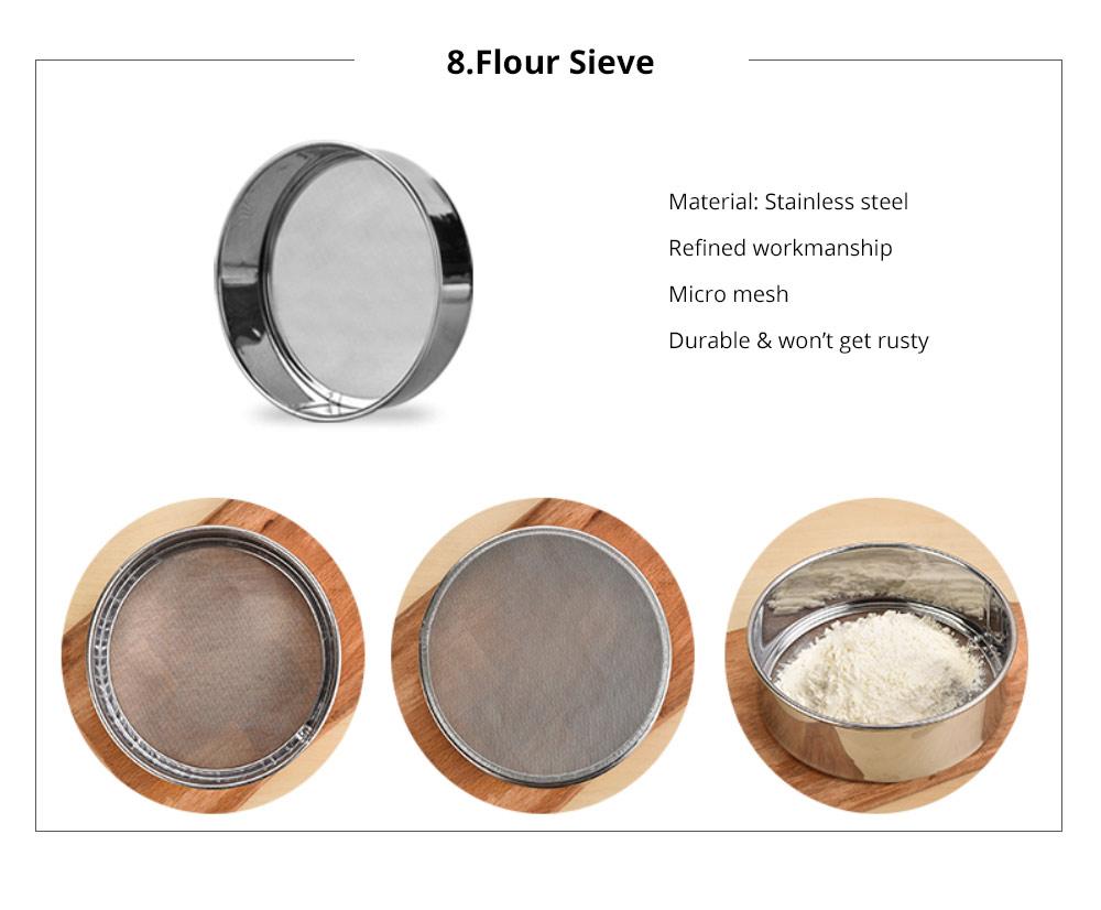 Premium Nonstick Bakeware Set 7 Pieces, Food Grade Dishwasher Safe Carbon Steel Kitchen Baking Pans Household Essential 18