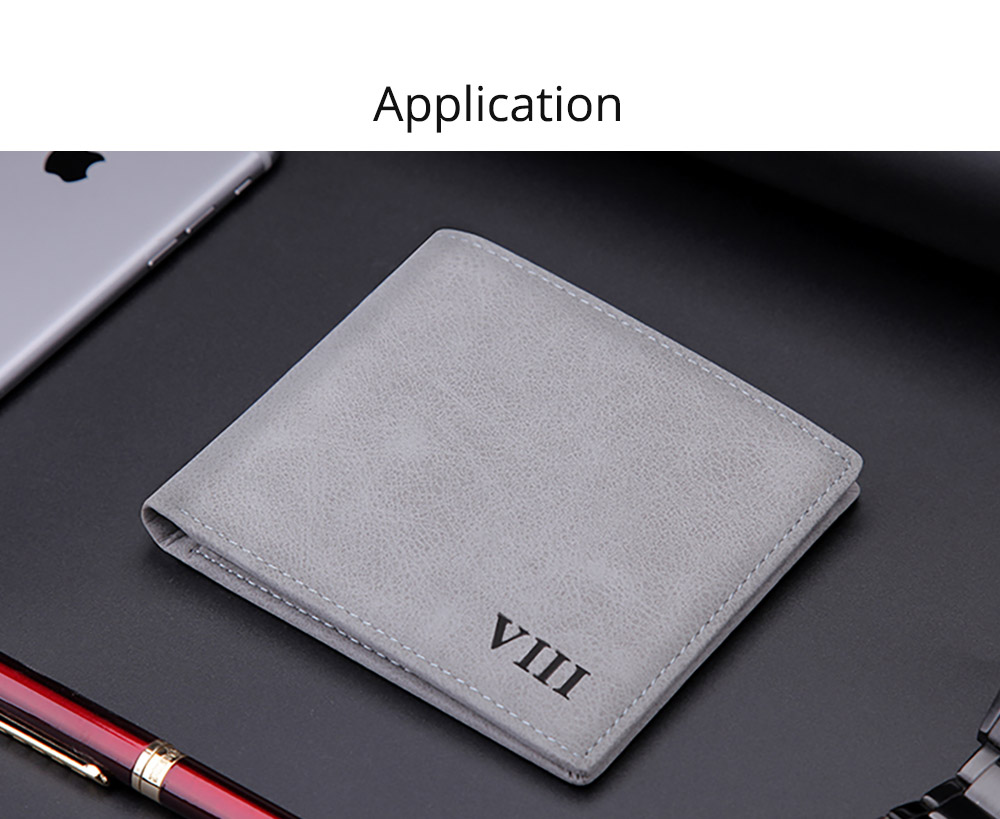 Men's Wallet - Matt Texture Soft Vintage, Lightweight Slim Stylish Wallets for Men with Multiple Compartments Card Slots 13