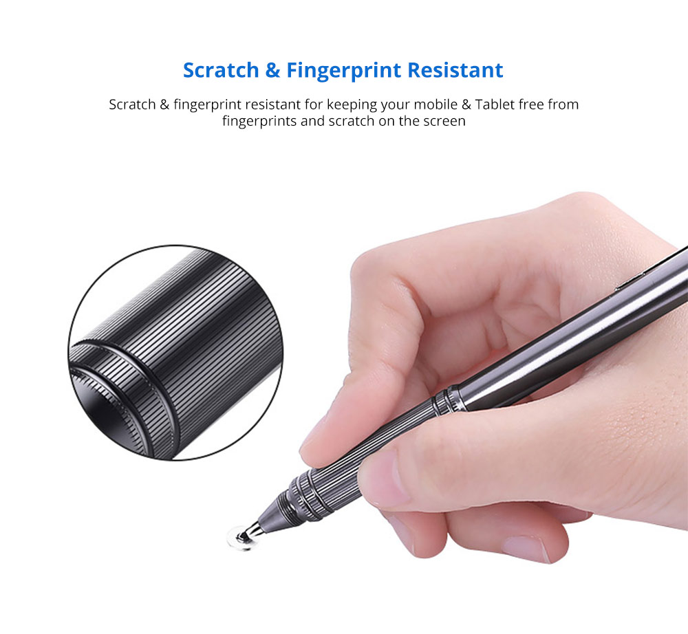 Laptop Cellphone Universal Precision Ballpen Stylus for Kindle Tipad iPhone and All Touch Screens Cell Phones Tablets Screen Touch Sensitive Digital Pens 9