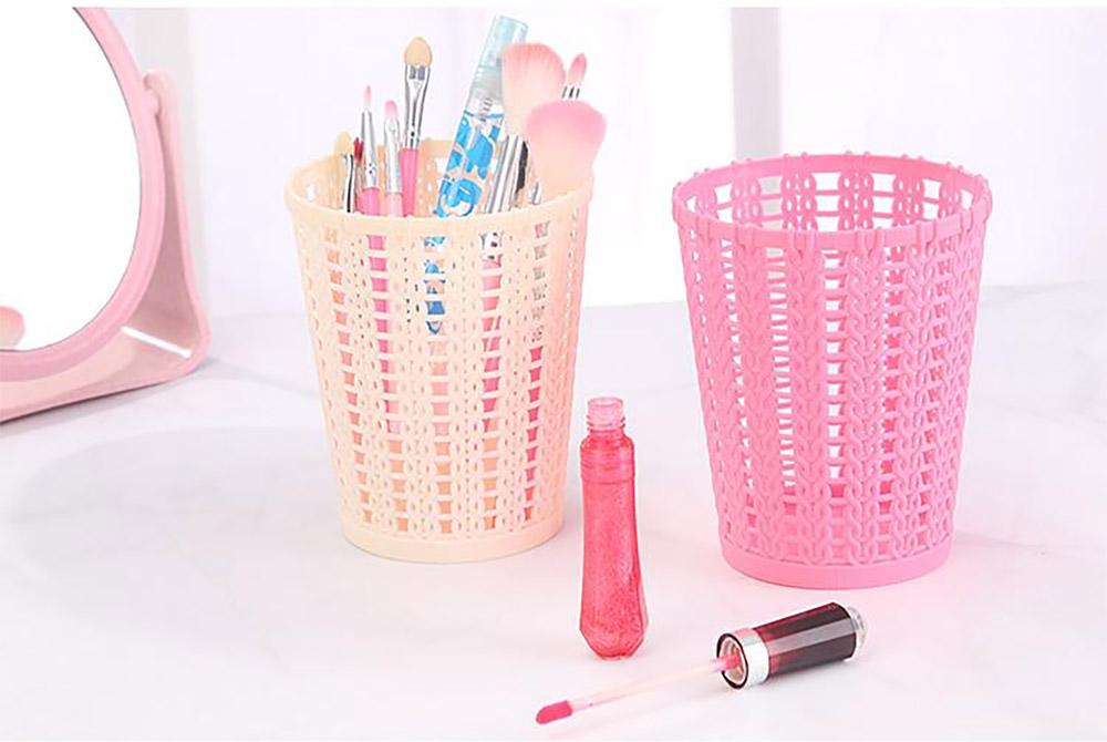 Desktop Pencil Holder Organizer for Pens Clips Scissors Multipurpose Cosmetics Organizer Office Supplies Home School Office Essential  10