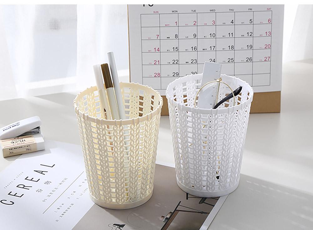 Desktop Pencil Holder Organizer for Pens Clips Scissors Multipurpose Cosmetics Organizer Office Supplies Home School Office Essential  15