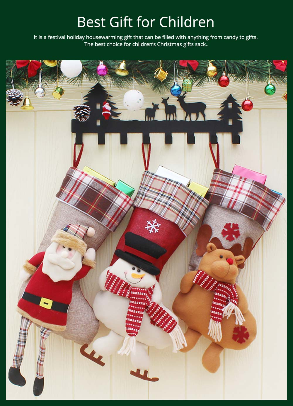 Generous Kids Christmas Santa Claus Snowman Elk Reindeer Snowflakes Hats Christmas Hat For Children Adult New Year Party Gifts Boy's Accessories Apparel Accessories