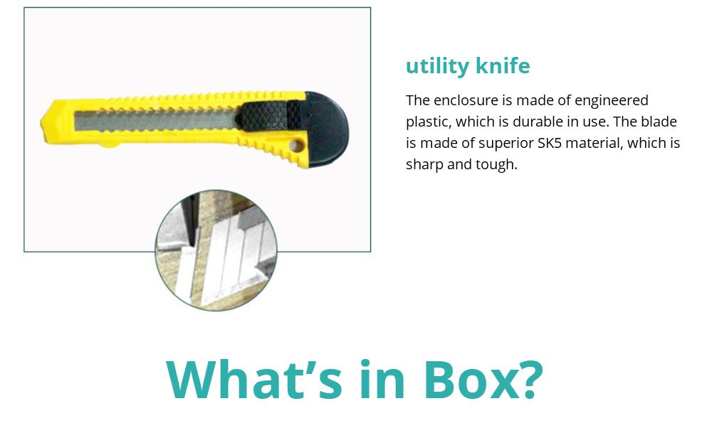 Household Hand Tools Set, 8 PCS Tools Set, Strong Hand Tools, Home Repair Tool Set, Hand Tool Kit with Plastic Tool Box, Car kits 12