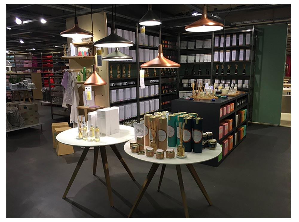 Restaurant Chandelier - Nordic Style and Modern Chandelier, Iron Chandelier, Lighting, LOFT Light, Single Head Lamp, Contracted Lamp 13