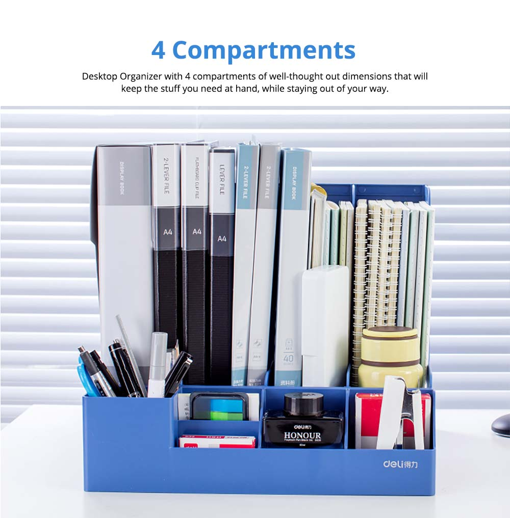Universal File Organizer for Documents, Tickets, Home & School File, Practical Desktop Documents Storage Holder Office Supplies 8
