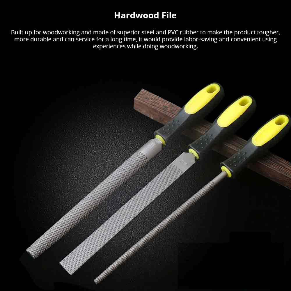 Carpenters File, Handled Hand Second Cut Engineers File for Woodworking, Wood Carving, DIY Woodworking Tools, Handcraft Essential Tools 0