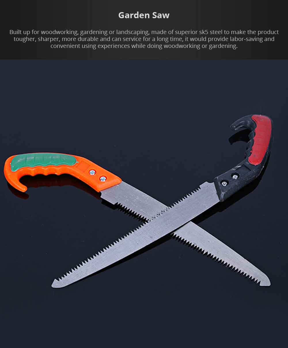 Multifunctional Garden Saw, Woodworking Pruning Saw Pruning Implements for Gardening, Landscaping 0
